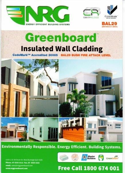 NRG Greenboard Brochure