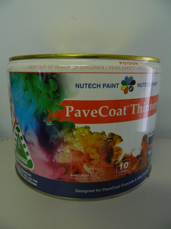 10lt PaveCoat Nutech Thinners