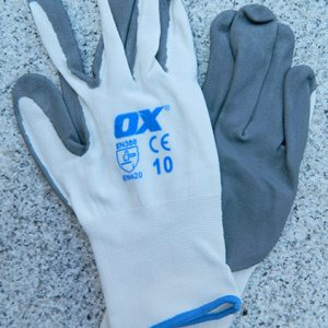 OX Safety Nitrile Gloves