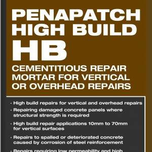 Aftek High Build Repair Mortar