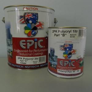 Epic PolyCryl two part